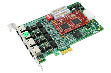 BRI Card (2 Port & 4 Ports) PCI